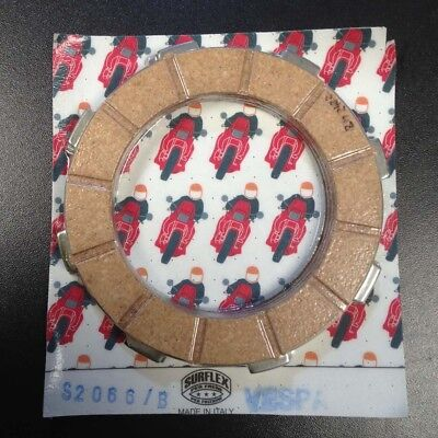 Clutch plates (qty 4) for Vespa PX & Cosa