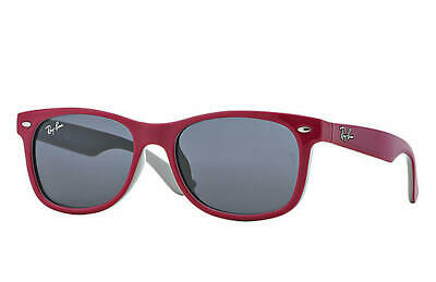 Ray Ban New Wayfarer Junior Purple Grey Classic Lens