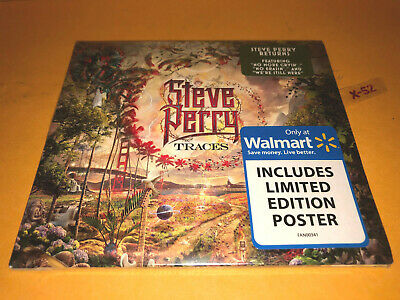 STEVE PERRY (Journey) Traces CD + WALMART Exclusive Limited Edition Poster