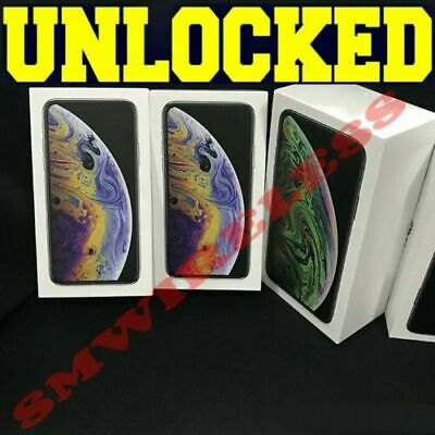 Apple iPhone XS 64GB┇ 256GB┇512GB (FACTORY UNLOCKED) BLACK│GOLD **OTHER** A+++