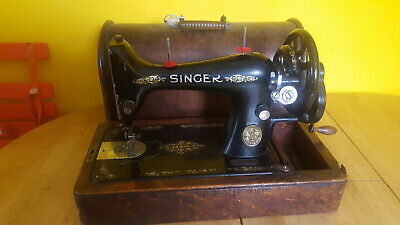 Antique Vintage Singer Sewing Machine working order SN 6514538