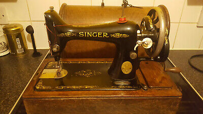 Vintage Singer Sewing Machine serial number  F2582364