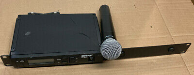 Shure ULXS4/ULX2 Receiver/Handheld Wireless Microphone System.