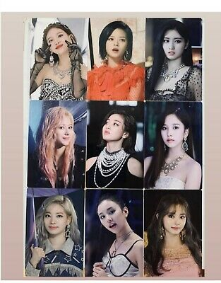 TWICE FEEL SPECIAL Monograph Limited Ed. PHOTOCARDS