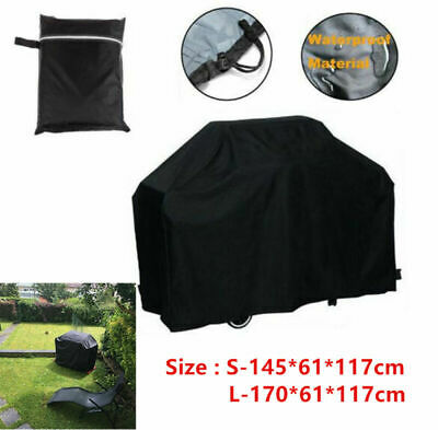 Waterproof Extra Large Bbq Cover Outdoor Garden Barbecue Grill Gas Protector Uk