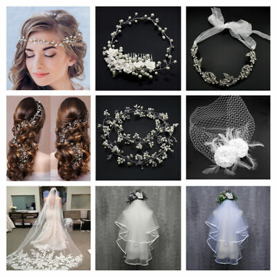 Long Knee Bridal Veil With Pencil Edge Crystals And Comb Bridesmaid Accessories