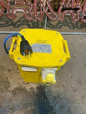 4kva 110V Site Transformer 1 x 32 Amp Outlet 4.0kVA  7 Available WEST YORKSHIRE