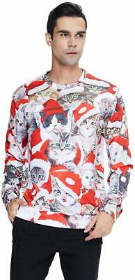 RAISEVERN Women Men Ugly Christmas Sweater Holiday Party Xmas Pullover Sweatshir