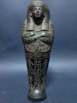 ANCIENT EGYPTIAN ANTIQUES USHABTI With HIEROGLYPHICS, Scarab Servant Minions BC