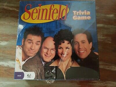 Seinfeld Trivia Board Game by Pressman 2009 NEW Seal Has A large Rip in front