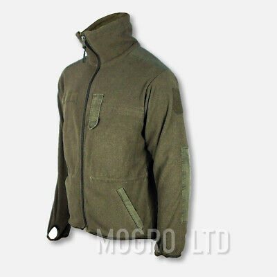 Genuine Austrian Army Thermal Fleece Jacket Olive