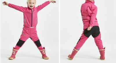 Childs, Didriksons, Hardwearing, Water Repellent, Soft Shell Tracksuit Pink