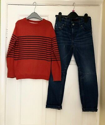 Boys NEXT jeans & jumper age 6 years