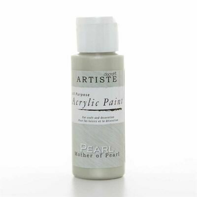 DoCrafts Artiste Pearl  Mother of Pearl Acrylic Craft Paint - 59ml / 2oz Bottle