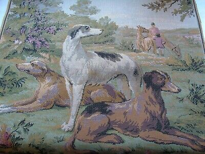 French awesome dog  tapestry  un used or old stock