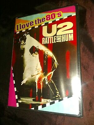 "U2 - Rattle and Hum (DVD, 2009, ""I Love the 80s"" Edition CD Included Sensormati…"