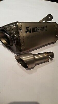 Chicane amovible db killer adaptable de diamétre 58mm pour pot akrapovic S1000R