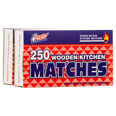 1000 Pcs WOODEN RED PENNY MATCHES  4 Boxes