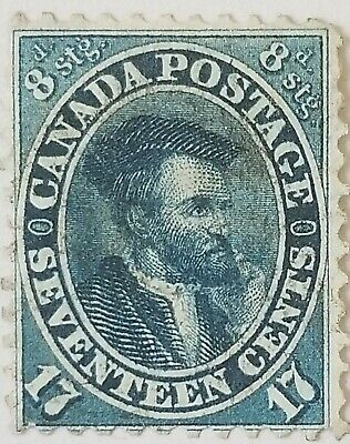 Cents Issue 19 Very Light Cancel