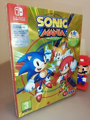 Sonic Mania Plus Nintendo Switch pal italian version New sealed nuovo sigillato