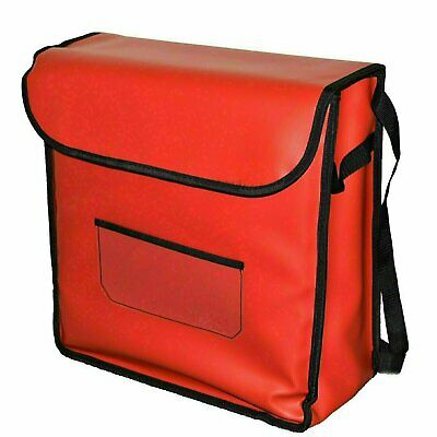 Pizza Delivery Bag - Red Double with Rack FREE SHIPPING