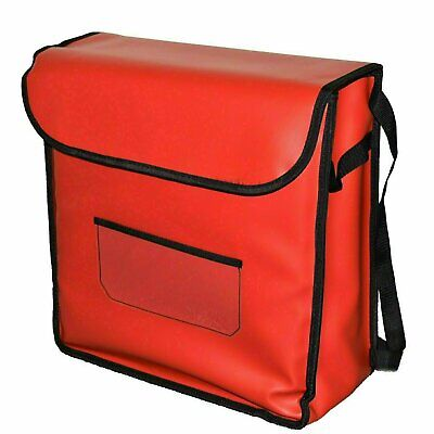 Pizza Delivery Bag - Red Triple with Rack FREE SHIPPING