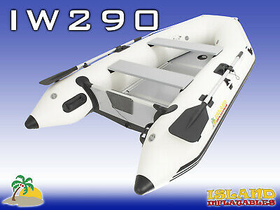 2.9m ISLAND INFLATABLE BOAT ✱ WOOD FLOOR ✱ Durable Thermo Welded Seams 3YR 9