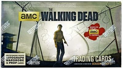 the walking dead factory sealed season 4 part 2 trading cards box