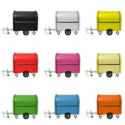 Mobile Food Cart Trailer - CE Certified, Customized Food Truck Free shipping