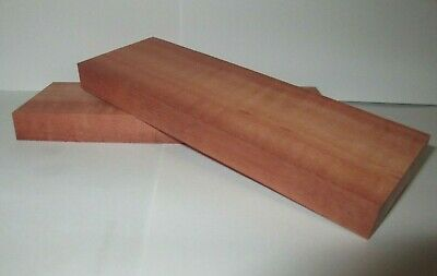 Book Matched Red Gum Knife Scales