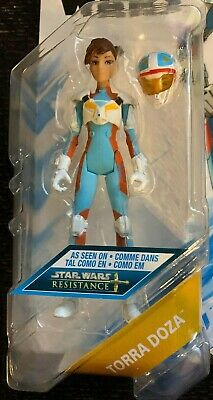 "Star Wars: Resistance Animated Series 3.75"" TORRA DOZA Figure Hasbro Loose"