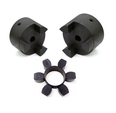 Jaw Coupling (Dunlop) L035 - L110 Pilot Bore - Choose Hubs, Inserts or Complete
