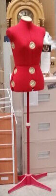 Fully Adjustable Dressmaker's Dummy Mannequin - Small to Large Sizing $180
