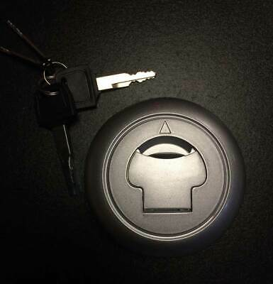 Fuel petrol tank cap satin complete with keys for Keeway Superlight 125