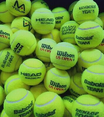 15 Used Tennis Balls. GREAT CONDITION. All Branded Balls. Ball Games / Dogs