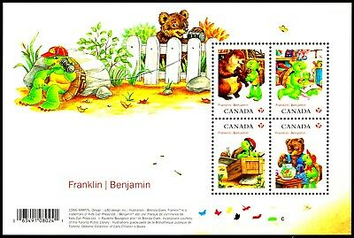 Canada 2012 Sc2541 MiB158 1 SS mnh Franklin the Turtle