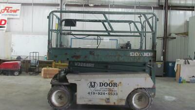 Condor Model V3268Rt - 4 X 4 Scissor Lift / Diesel -