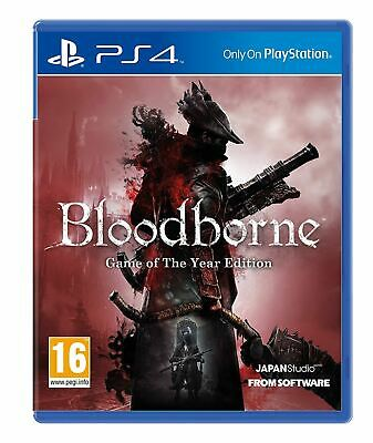 Bloodborne Game of the Year GOTY PlayStation 4 PS4 Brand New Sealed Official