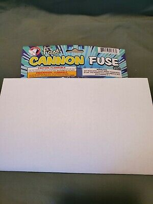 Fast Visco Cannon Fuse Model Rockets Cannons Fireworks Hobby Fuse Label