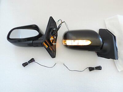 Power Folding LED Signal Side Mirrors For 03 ~ 08 TOYOTA COROLLA  ALTIS