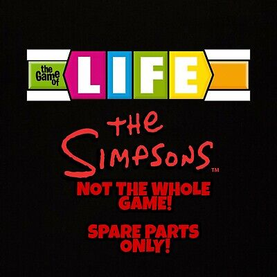 The Game Of Life - The Simpsons Edition - Mb Games- 2004..Choose Your Piece(S)