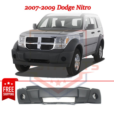 Front Bumper Cover For 2007-2009 Dodge Nitro w// fog lamp holes Textured