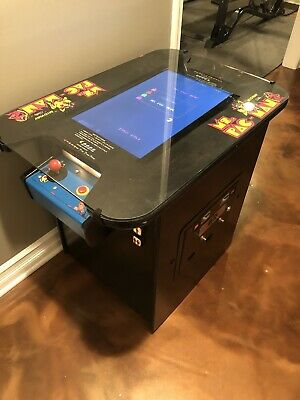 VINTAGE MS. PAC-MAN Cocktail Arcade Game Original Pacman table coin coin-op ms