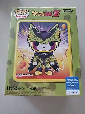 Funko Pop! Dragon Ball Z Perfect Cell Box Sealed Gamestop Exclusve Xl Tee