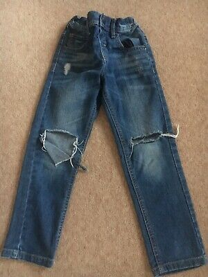 Next Boys Ripped Jeans Age 4-5 Years