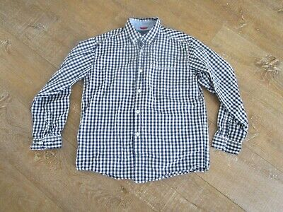 Tommy Hilfiger Boys Long Sleeve Gingham Cotton Casual shirt size L (16-18) years