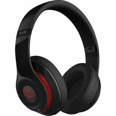 Beats by Dr Dre Studio 2 Black Wired Headphones | SHIPS SAME DAY!