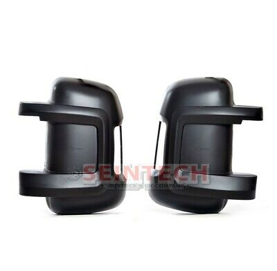 FIAT DUCATO PEUGEOT BOXER CITROEN RELAY Door Wing Mirror Casing Cover NS OS PAIR