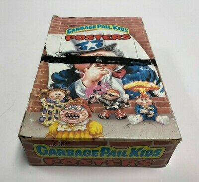1986 Topps GARBAGE PAIL KIDS Posters Unopened Wax Pack Box 36 packs