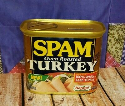 Hormel SPAM Tin Coin Bank - Never Used- Turkey Unique Gift for Your Spam Lover